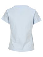 Helmut Lang Embroidered Logo T-shirt - GLACIER