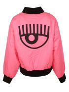 Chiara Ferragni Fluo Logo Bomber - pink