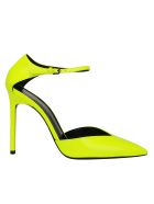 Saint Laurent Anka Pumps - Fluo yellow