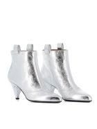 """Laurence Dacade Ankle Boots """"terence"""" - Silver"""