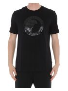 Versace Collection Logo Medusa Tshirt - Nero+stampa