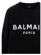Balmain Sweatshirt - BLACK