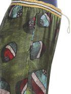 Stella Jean Palazzo Trousers - SPHERE/GREEN