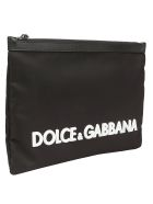 Dolce & Gabbana Dolce E Gabbana Pouch - Nero/bianco