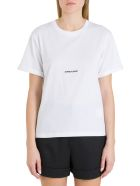 Saint Laurent Logo Tee - Bianco