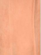 Marni Sleeveless Suede Tunic Dress - ANITIQUE ROSE