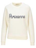 Maison Kitsuné Maison Kitsune Parisienne Vintage Swetshirt - ECRU