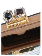 Alexander McQueen 'double Ring' Bag - Black