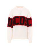 GCDS Sweater - White