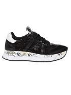 Premiata Sneakers BLACK NYLON SNEAKERS