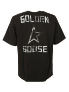 Golden Goose Logo T-shirt - Black