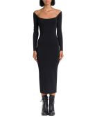 Alexander Wang Sheer Yoke Dress - Nero
