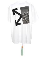 Off-White Off White Printed T-shirt - WHITE