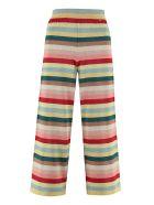 Elisabetta Franchi Celyn B. Lurex Knit Trousers - Multicolor