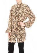 Rokh Shirt With Leopard Print - LEO (Beige)