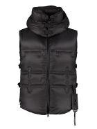 Moncler Body Warmer Jacket - black