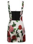 Dolce & Gabbana Floral Print Sleeveless Dress - floral