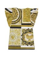 Young Versace Printed Cotton Dress - Multicolor