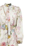 Zimmermann Heather Garden Floral Print Maxi Dress - Avorio multicolor