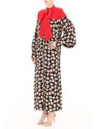 Rokh Floral-printed Shirt Dress - MULTI (Red)