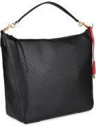 Tory Burch Perry Leather Hobo-bag - black