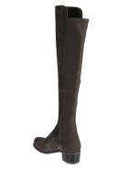 Stuart Weitzman Reserve Over-the-knee Boots - tarmac black