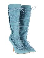 Y/Project Lace-up Boots - POWDER BLUE