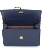 J.W. Anderson Anchor Logo Leather Shoulder Bag - blue