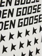 Golden Goose Logo Usa Flag Print T-shirt - Bianco