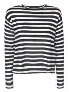 Max Mara The Cube Striped Sweater - Black/Cream