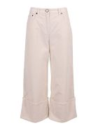 Vivetta Cotton Trousers - White