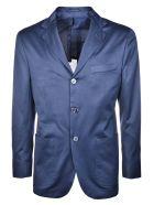 Kiton Single Breasted Blazer - Blue