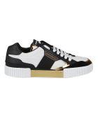 Dolce & Gabbana Multicolor Leather Miami Sneakers - Multicolor