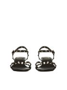 Ash Studded Sandals - Nero oro