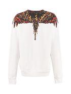 Marcelo Burlon Cotton Crew-neck Sweatshirt - White