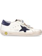 Golden Goose Old School Leather Low-top Sneakers - White