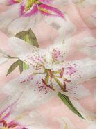 Dolce & Gabbana Floral Scarf - Pink