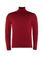 Drumohr Long-sleeve Wool Turtleneck - red
