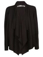 Issey Miyake Ruffle Detail Top - Black