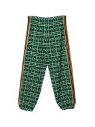 Gucci Green Trousers - Verde