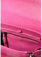 3.1 Phillip Lim Pebbled Leather Bag - BRT FUCHSIA