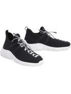 Prada Knitted Sneakers - black