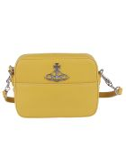 Vivienne Westwood Logo Shoulder Bag - Yellow