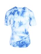 Paco Rabanne 'lose Yourself' Cotton T-shirt - Blue