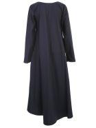 Daniela Gregis Olma Dress Square Neck - Navy Blue