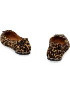 Tory Burch Leather Ballet Flats - Animalier