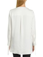 Alexander McQueen Pussy-bow Blouse - Bianco
