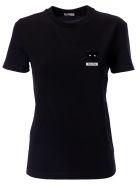 Miu Miu Cat Embellished T-shirt - Nero