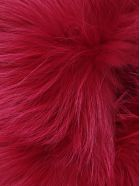 Mr & Mrs Italy Racoon Fur Scarf - Pink