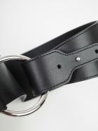 SEMICOUTURE Belt Robin Leather - Nero